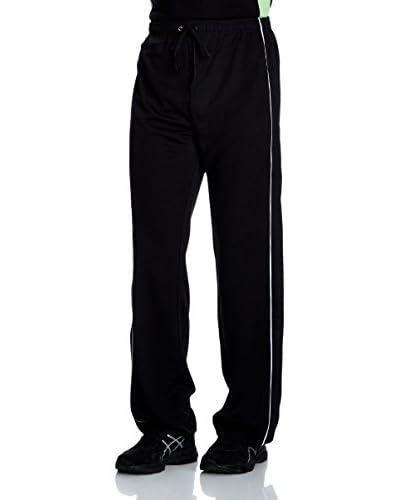 Dcore Pantalone Felpa [Nero/Bianco]