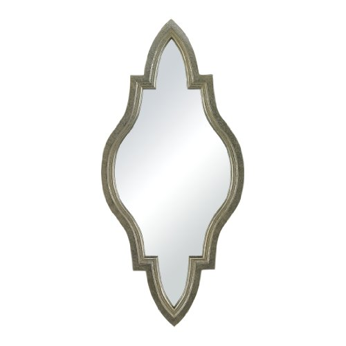 Sterling Industries  Moroccan Inspired Mirror in Silver Frame
