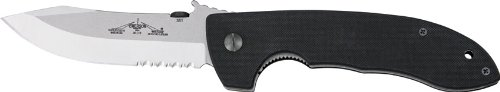 Emerson Knives Inc Usa Super Cqc-8 Stonewash Serrated Edge