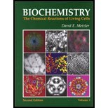 Biochemistry - The Chemical Reactions of Living Cells (2nd, 01) by Metzler, David E [Hardcover (2001)]