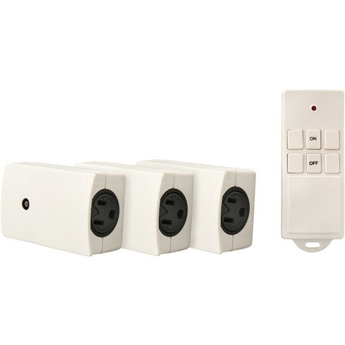 Woods 13569 Indoor Wireless Remote Control (3-Pack) picture