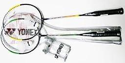 Racket Frame: Steel - YONEX Combo Badminton Recreational Package-2 Racket Set