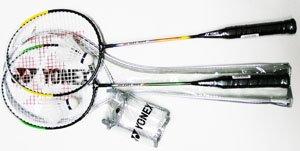 Buy Racket Frame: Steel - YONEX Combo Badminton Recreational Package-2 Racket Set by Yonex