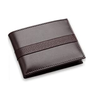 Stylish Leather Men Wallet | Color Black