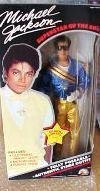 Michael Jackson Superstar of the 80's Grammy Awards Action Figure Doll 11 1/2 Inch Size