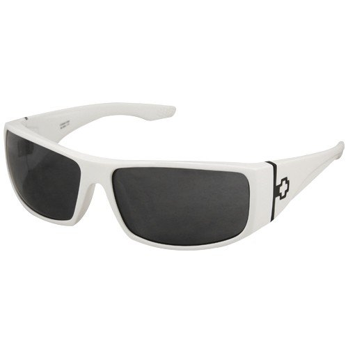 b231864d9016a Spy Optics Cooper XL Shiny White-Gray Sunglasses Review