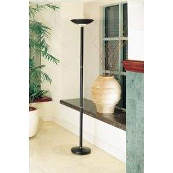 Amazoncom halogen torchiere lighting floor lamp black for Halogen floor lamp amazon
