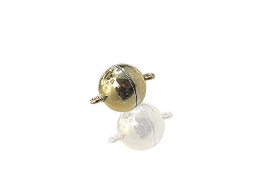 Magnetverschluss Powerclip DE, rund 12mm, gold glänzend