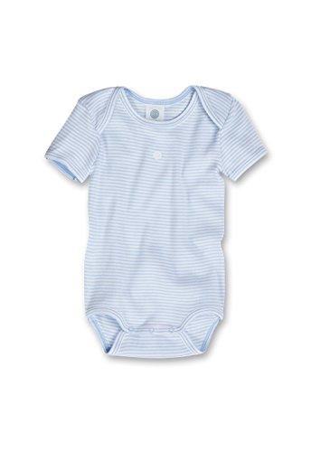 Sanetta Babybody halbarm im Set 321780 Organic Cotton Gr.98 hellblau/weiss 508