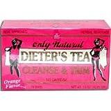 Only Natural Cleansing Diet Tea, Orange, 24 Bag