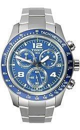 Tissot V8 Blue Quartz Chronograph Sport Men's watch #T039.417.11.047.02