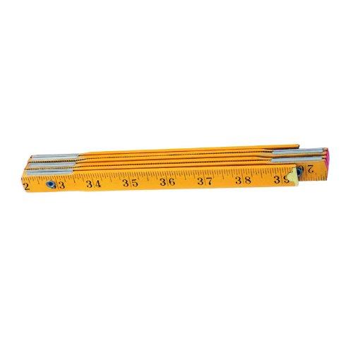Classic Wood Carpenter's Folding Ruler - 40