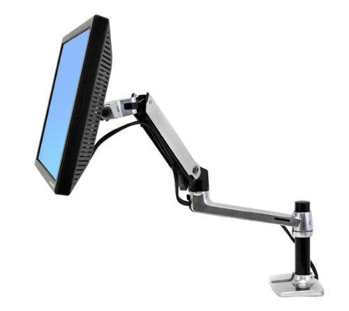 """Ergotron (45-241-026) Lx Desk Mounting Arm For 24"""" Lcd Flat Panel Display"""