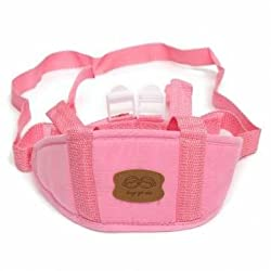 1pc Baby Toddler Walking Wing Belt Safety Harness Strap Learning Walk Assistant (Pink)