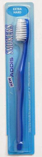 Addis Toothbrushes Smokers Extra Hard