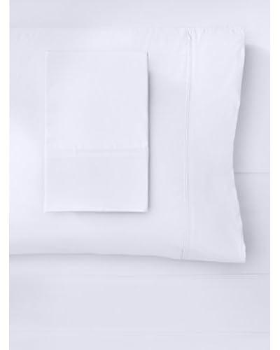 Mélange Home Egyptian Cotton Percale Double Pleat Sheet Set