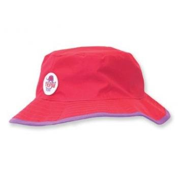 Floppy Tops Ultra Compact Reversible Sun And Rain Hat (Magenta/Purple)