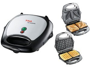 Waffle Maker With Removable Plates