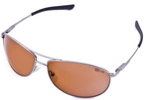 V:One Magneto Aviator Sunglasses (Silver Frame), with Advanced Italian Made Lenses - Ideal Driving Sunglasses