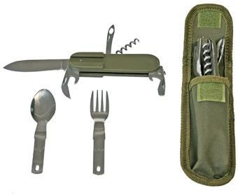 Able® Stainless Steel Multi-function Pocket