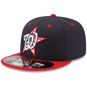 Buy New Era 59FIFTY - MLB 2014 AC 4th Of July Stars & Stripes Hat Cap (7 1 8, Washington Nationals) by New Era
