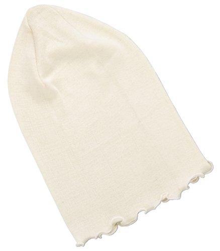潤いシルクのおやすみ帽子 キナリ
