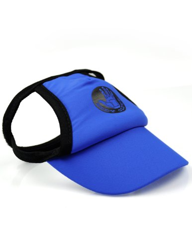 Body Glove Pet Sun Protective Dog Visor Medium Royal