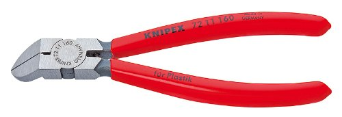 Knipex 72 11 160 Sb 45-Degree Angle Diagonal Flush Cutters