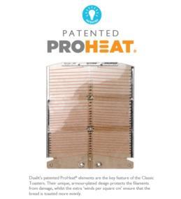 Patented ProHeat