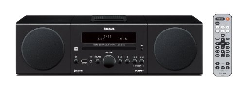 Review and Buying Guide of Cheap Yamaha MCRB142 Micro Component System - Black (Wireless Bluetooth, Digital Docking, USB Intelli Alarm)