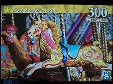 Puzzlebug 300 Piece Jigsaw Puzzle Carousel Horse - 1