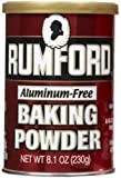 Rumford Baking Powder Canisters -- 8.1 oz