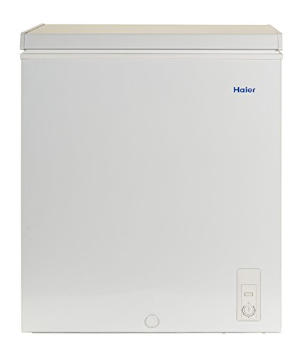 Haier HF50CM23NW 5.0 cu. ft. Capacity Chest Freezer, White (Freezers compare prices)