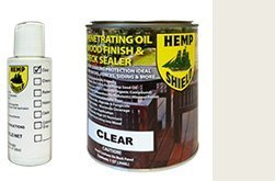 Hemp Shield Wood Finish & Deck Sealer Clear - 4 pack (Hemp Shield Stain compare prices)