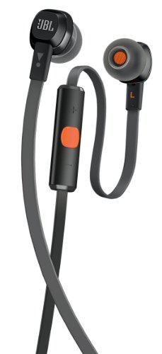 Jbl High Performance In-Ear Headphones With Remote And Mic - Black