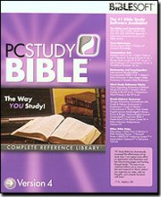 PC Study Bible 4 Complete Reference Library