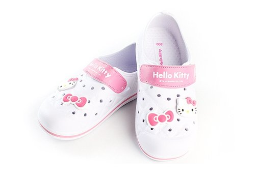 Hello-Kitty-YOMI-Lovely-Kids-Casual-Shoes-for-Girls-Clogs-House-Pool-White-US-Size-1
