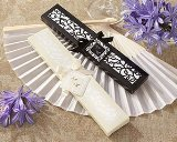Kate Aspen Luxurious Silk Fan in Elegant Gift Box, Set of 4 - 1