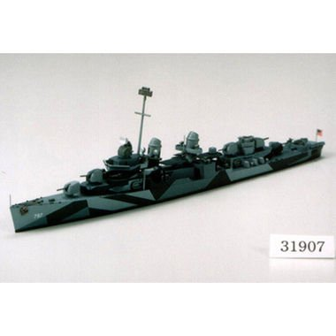 1/700 USS Destroyer DD797 Cushing by Tamiya - 1