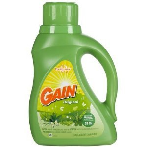 Gain Original Liquid Laundry Detergent 25 Loads 40 Oz. (He), Procter & Gamble
