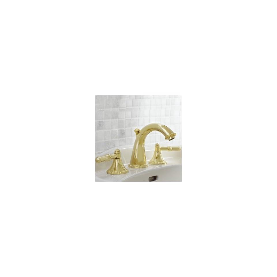 Mico Designs 1800 BeadedPN B4 PN Polished Nickel Bathroom Faucets 8 Widespread Lav Faucet