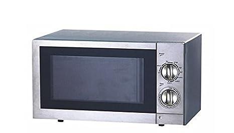 Four à micro-ondes tout inox avec fonction grill