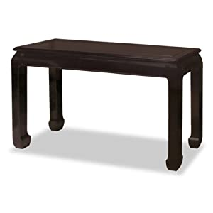 Amazon.com: 48in Rosewood Ming Console Table - Black: Home & Kitchen