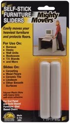 Bulk Buy: Master Manufacturing Mighty Movers Self Stick Furniture Sliders .75