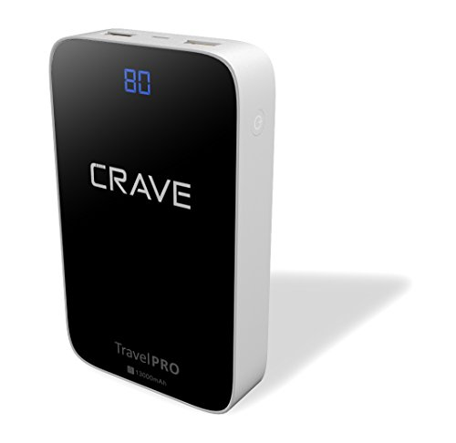 Crave Travel Pro 13000mAh Power Bank