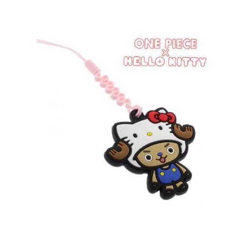 Sanrio Hello Kitty x One Piece Cleaner Cell Phone Charm (Chopper)