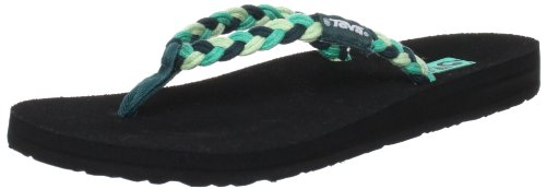Teva Women'S Mush Sea Breeze Flip Flop,Deep Teal,6 M Us front-1077599