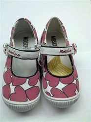 Moschino Moschino - Childrens Shoes for Girl Pink Hearts