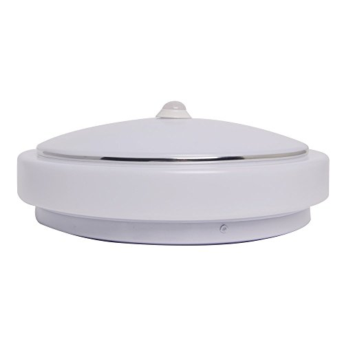 12W PIR Motion Sensor LED Ceiling Light, Human Body Infrared Detector Motion Switch, LED Wall Sconce Night Light For Hallway Corridor Stairs Depot Closet Bathroom Toilet Children Room (Motion Sensor Closet Light Wired compare prices)