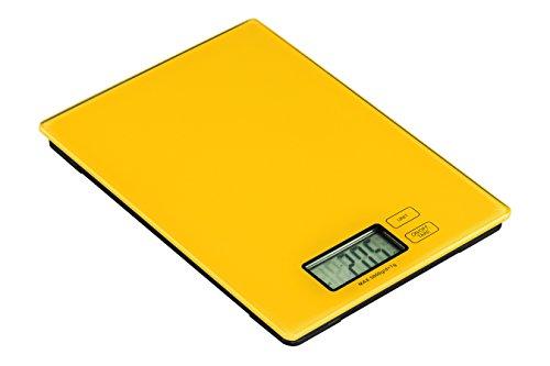 Premier Housewares 0807261 Zing Balance de Cuisine Electronique Verre Jaune